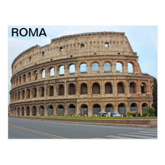 Coliseo de Roma Postales