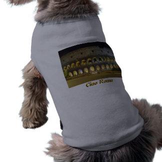 Coliseo de Roma Camisa De Perrito