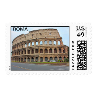 Coliseo de Roma Sello
