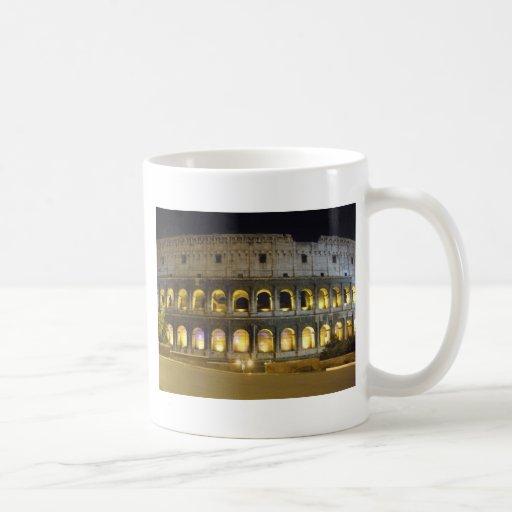 Coliseo de Roma Tazas