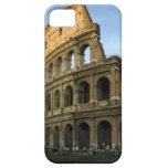 Coliseo en la puesta del sol iPhone 5 Case-Mate carcasas