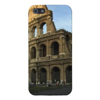 Coliseo en la puesta del sol iPhone 5 fundas