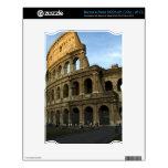 Coliseo en la puesta del sol NOOK calcomanía