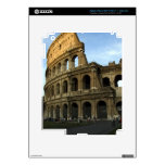 Coliseo en la puesta del sol pegatinas skins para iPad 3