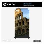 Coliseo en la puesta del sol skin para el iPhone 4S
