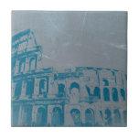 Coliseo en Roma Azulejo Ceramica