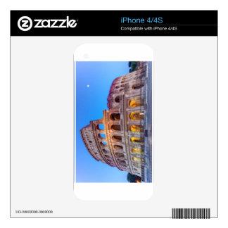 Coliseo en Roma, Italia Calcomanías Para El iPhone 4S