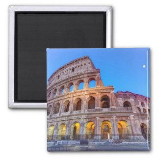 Coliseo en Roma, Italia Imán Cuadrado