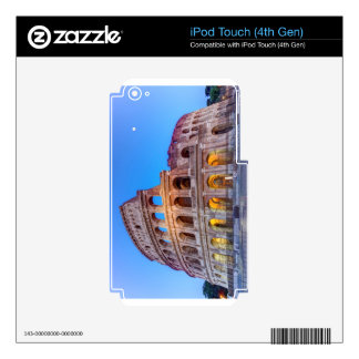 Coliseo en Roma, Italia iPod Touch 4G Skin