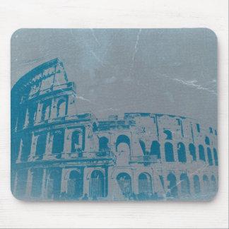 Coliseo en Roma Alfombrillas De Raton