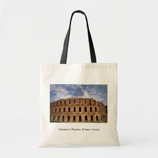 Coliseo en Thysdrus, EL Djem, Túnez Bolsa