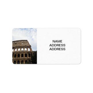 Coliseo Etiquetas De Dirección