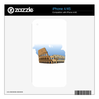 Coliseo Roma Rome Ancient Coliseum History Italy Skins For The iPhone 4