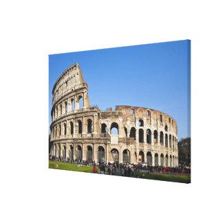 Coliseo romano impresión de lienzo