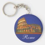 Coliseo romano llavero redondo tipo pin