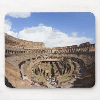 Coliseo romano, opinión de ojo de pescados tapete de ratón