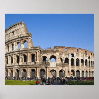 Coliseo romano impresiones