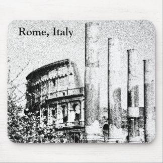 Coliseo romano, Roma Italia Alfombrillas De Raton