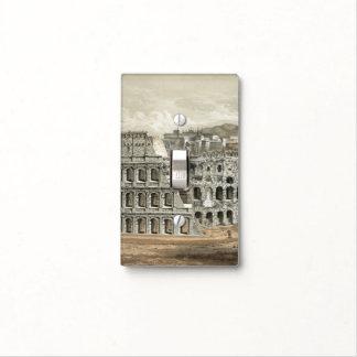 Coliseo romano placas para interruptor