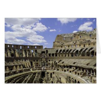 Coliseo romano tarjeta pequeña