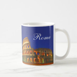 Coliseo romano taza básica blanca