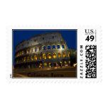 Coliseu, coliseo, Roma - modificada para Estampilla