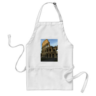 Coliseum at sunset adult apron