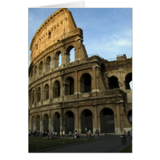 Coliseum at Sunset Card