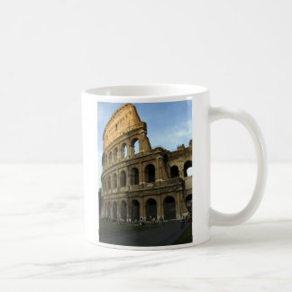 Coliseum at sunset coffee mug