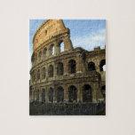 Coliseum at sunset jigsaw puzzle