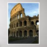 Coliseum at sunset print
