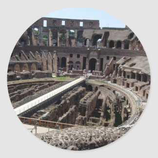 Coliseum Classic Round Sticker