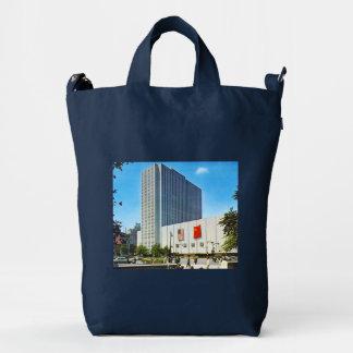 Coliseum, Columbus Circle, New York City Vintage Duck Bag