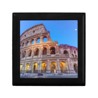 Coliseum in Rome, Italy Keepsake Box