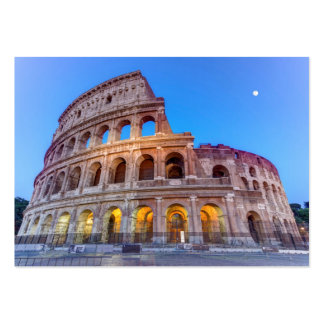 Coliseum in Rome, Italy Large Business Card