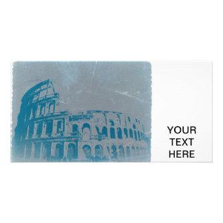 Coliseum in Rome Custom Photo Card