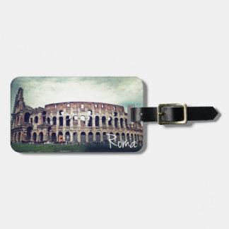 Coliseum Luggage Tag
