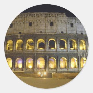 Coliseum of Rome Classic Round Sticker