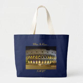 Coliseum of Rome Large Tote Bag