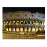 Coliseum of Rome Postcard