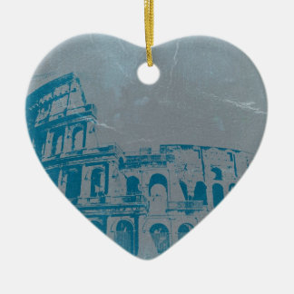 Coliseum Rome Ceramic Ornament