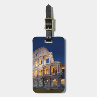 Coliseum Rome Luggage Tag