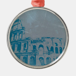 Coliseum Rome Metal Ornament