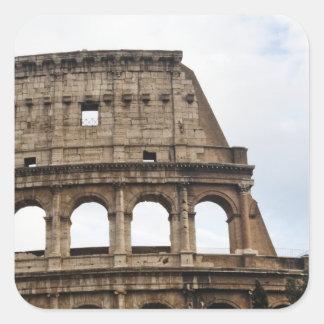 Coliseum Square Sticker