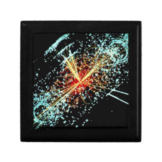 Colisión de LHC Joyero Cuadrado Pequeño