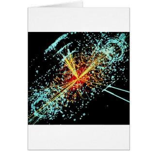 Colisión de LHC Tarjeta De Felicitación