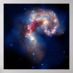 Colisión galáctica posters
