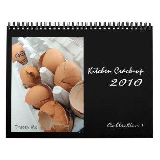 Coll de la Grieta-para arriba de la cocina. 1 Calendarios De Pared