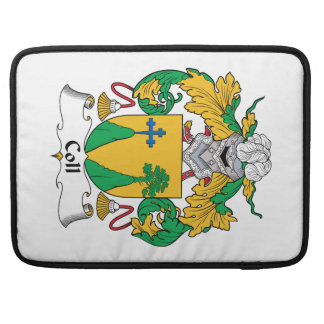 Coll Family Crest MacBook Pro Sleeve