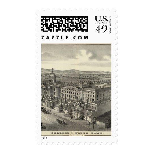 Coll of Notre Dame Postage